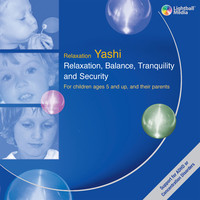 Cover of the relaxation CD for children:  Relaxation, Balance, Tranquility and Security
