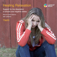 Cover of the Relaxation CD: Healing Relaxation for Adults