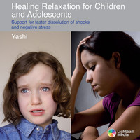 Cover of the relaxation CD:  Healing Relaxation for Children and Adolescents