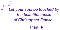 Let your soul be touched by the beautiful music of Christopher Franke...
